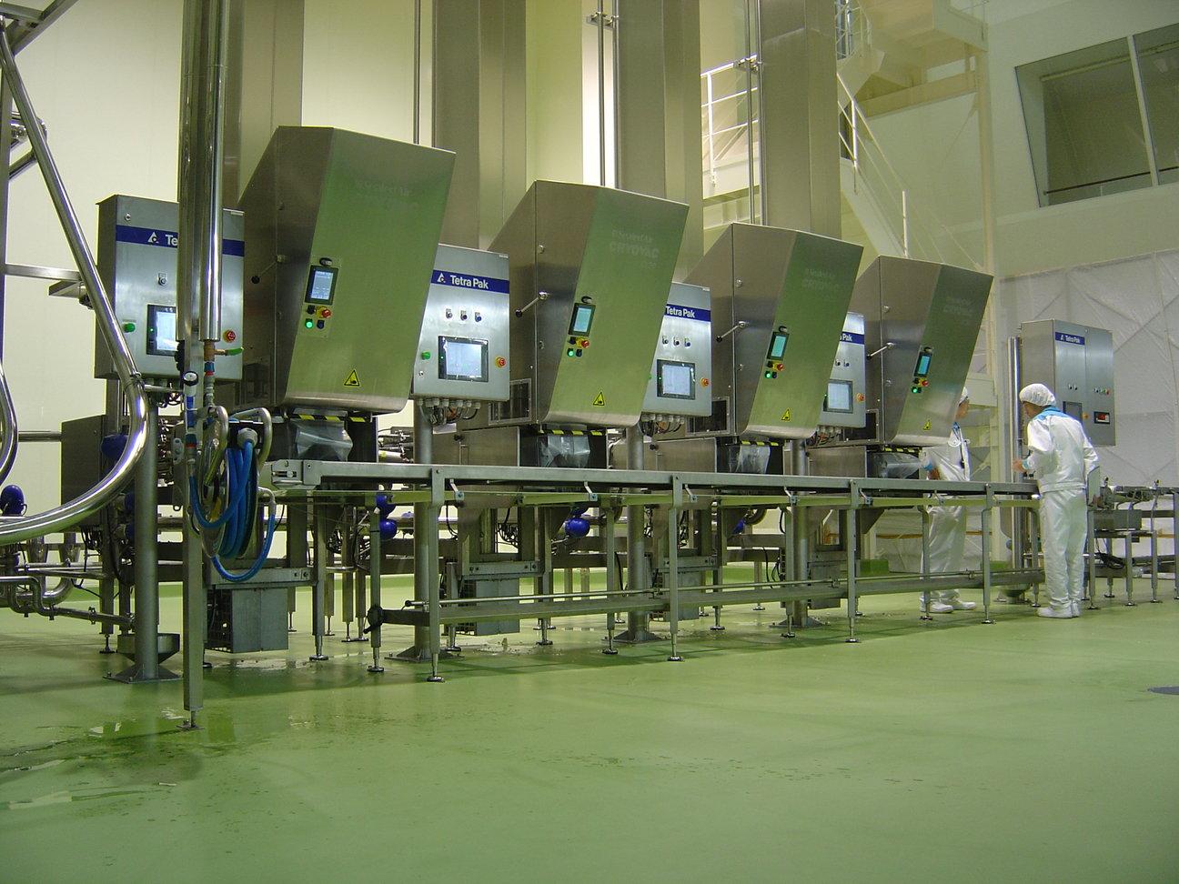 Paneelbouw en laagspanningssystemen voedingsmiddelen industrie